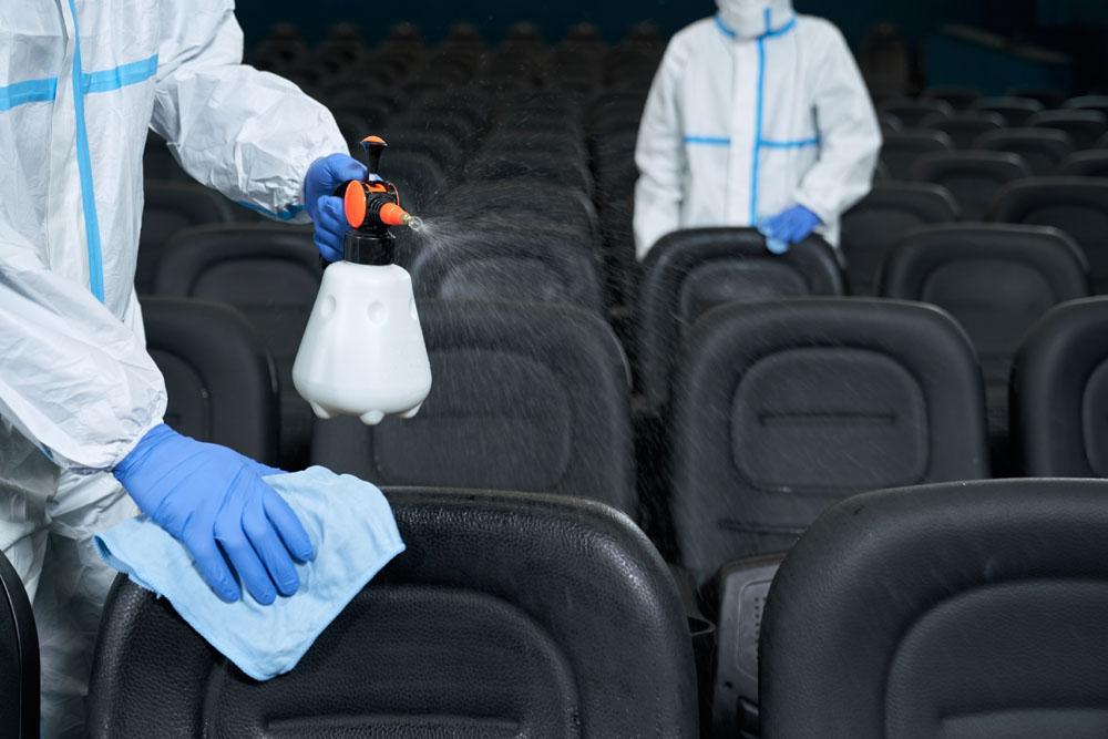Empresa de limpieza de cines en Panamá